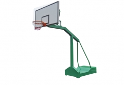 Removable basketball stand
