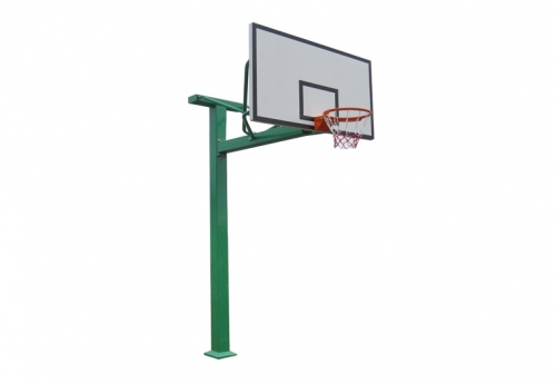 Outdoor square tube basketball stand