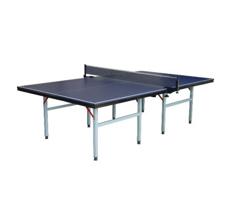 Single- foldable tennis table without wheel
