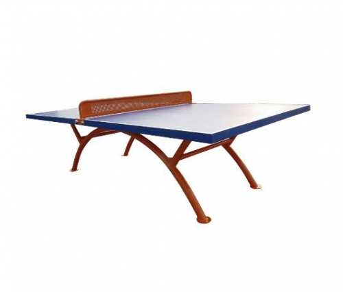 Outdoor table tennis table without wheel