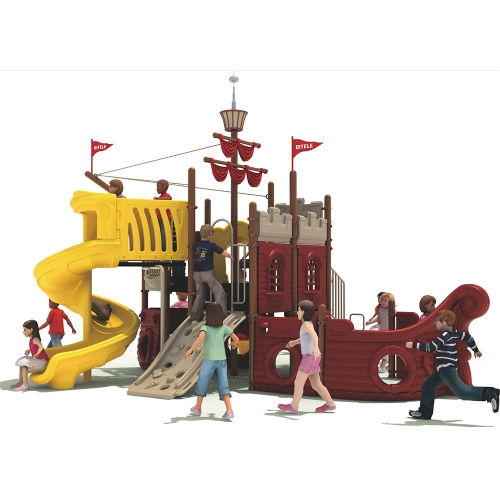Outdoor Chilren Playground QF-10501