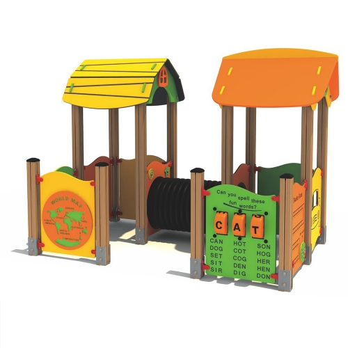 Outdoor Chilren Playground QF-16004