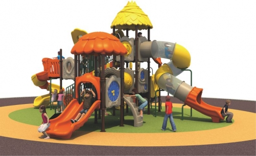 Outdoor Chilren Playground QF-08701
