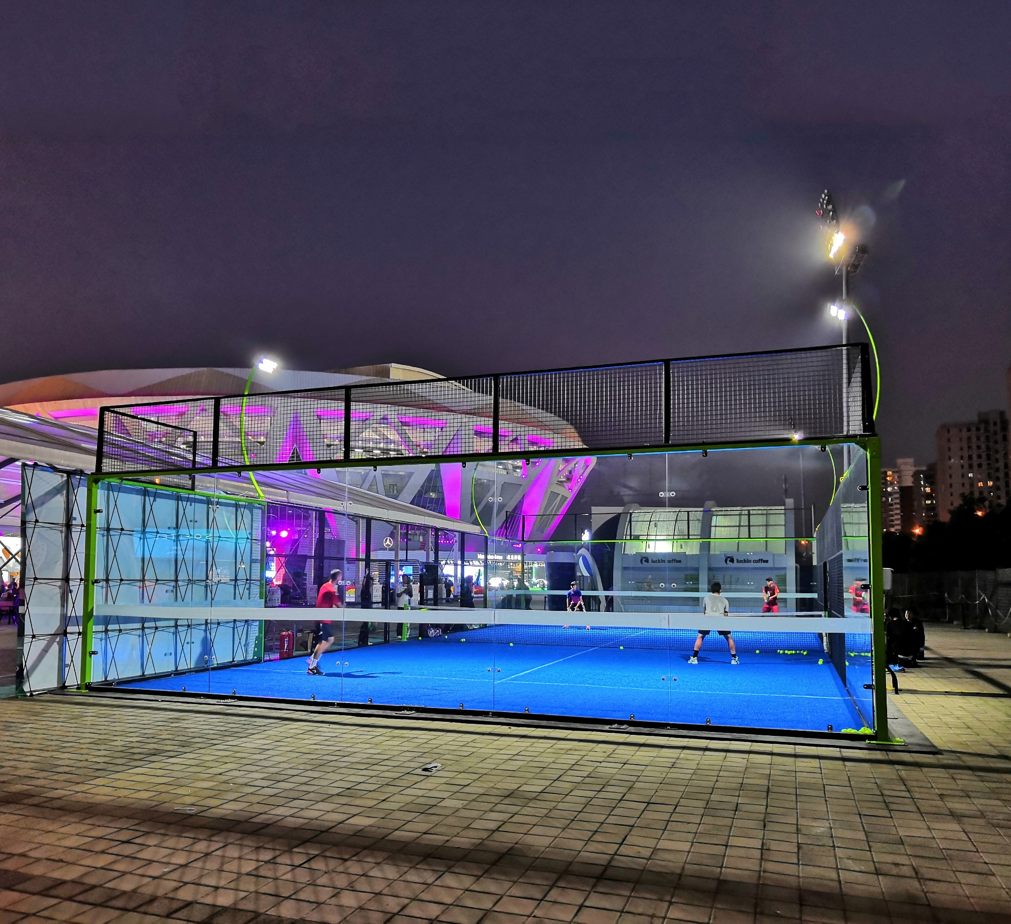 """QIFAN"" Padel Court in China National Tennis Center"